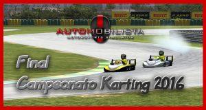 Campeonato Karting 2016